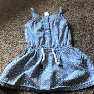 Blue Carter's summer dress